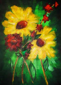 "Bouquet | 24"" X 36"" 