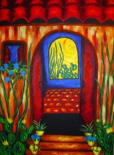 "Open Door | 30"" X 40"" 