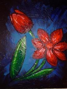 "Flower VI | 8"" X 10"" | SOLD"