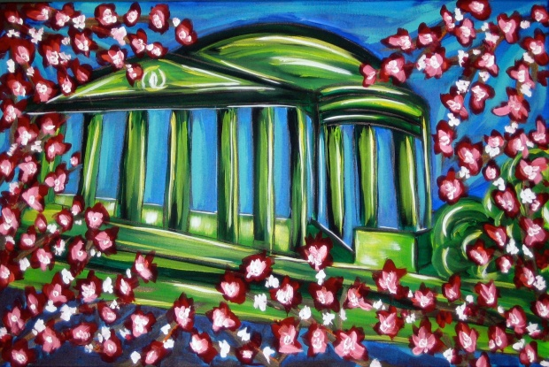 "Jefferson Memorial | 24"" X 36"" 