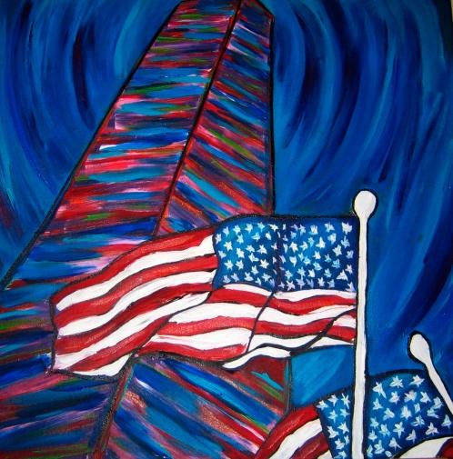 "Washington Monument | 20"" X 36"" | SOLD"