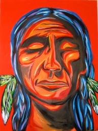 "Native | 24"" X 36"" | $600"
