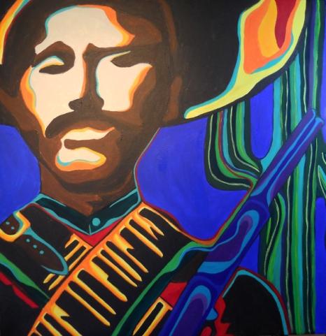 "Pancho Villa | 36"" X 36"" | $500"